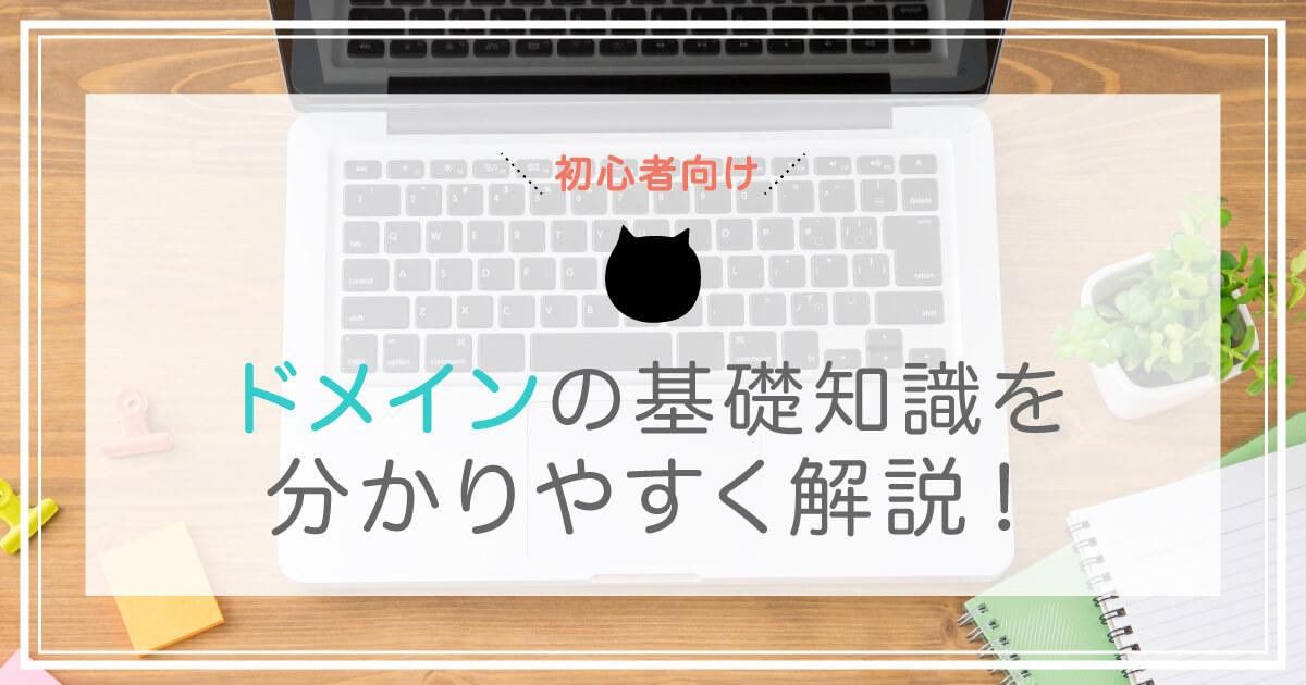 【初心者向け】ドメインの基礎知識を分かりやすく解説!